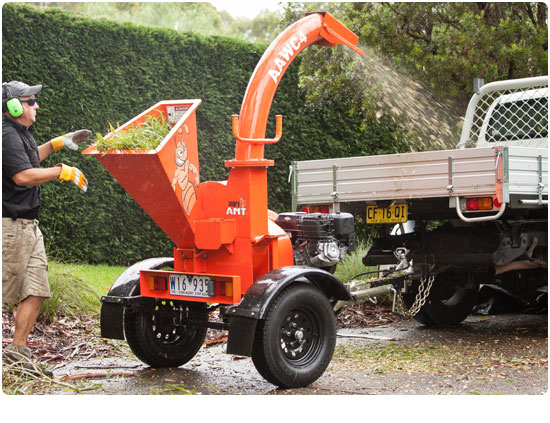 Angry Ant WC4 Petrol Wood Chipper