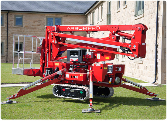 Global Machinery Sales CMC S15 Arbor Pro Spider Lift