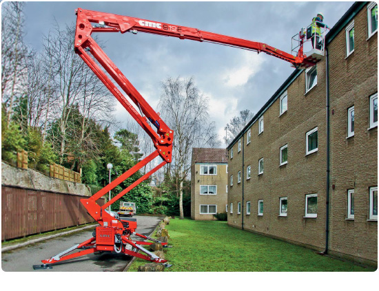 Global Machinery Sales CMC S19E Spider Lift