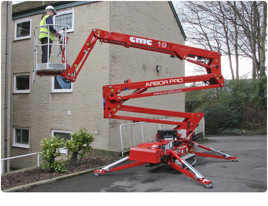 Global Machinery Sales CMC S19N Arbor Pro Spider Lift
