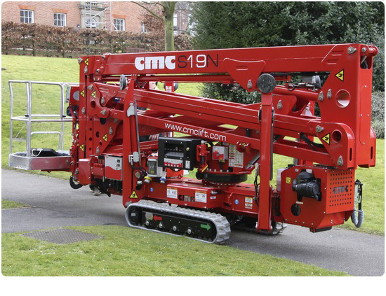 Global Machinery Sales CMC S19N Spider Lift