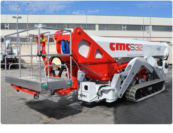 Global Machinery Sales CMC S32 Spider Lift