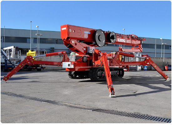 Global Machinery Sales CMC S41 Spider Lift