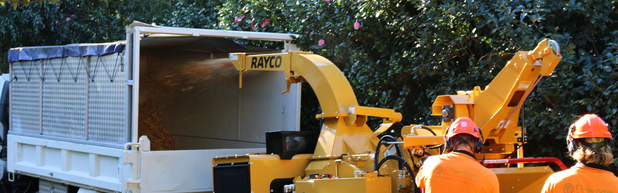 Global Machinery Sales Rayco Wood Chippers