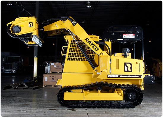 Rayco C100LGP Diesel Forestry Mowers