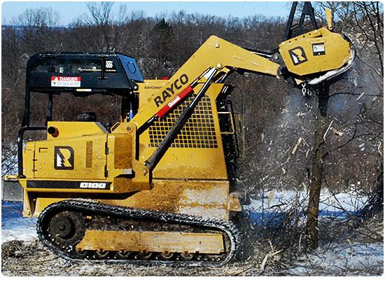 Rayco C100R Diesel Forestry Mowers
