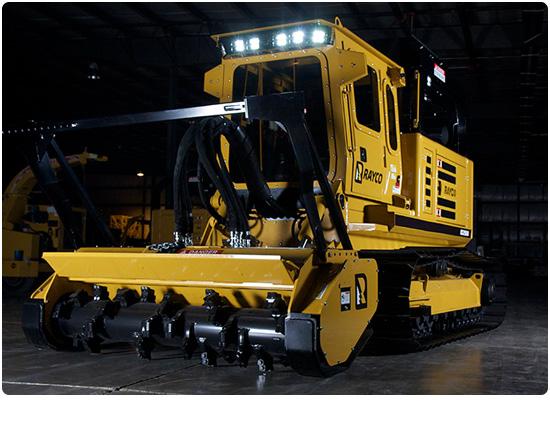 Rayco C260 Diesel Forestry Mowers