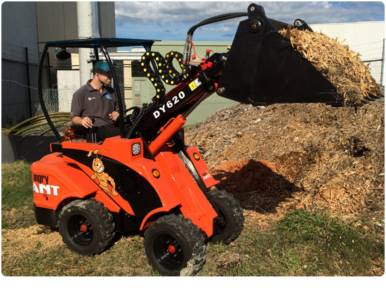 Angry Ant DY620 Diesel Mini Loader