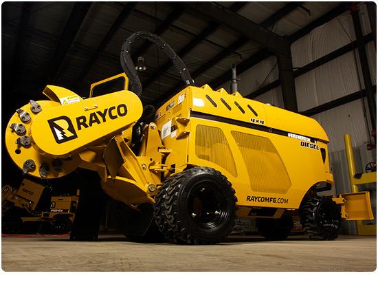 Rayco RG100X Diesel Stump Grinder