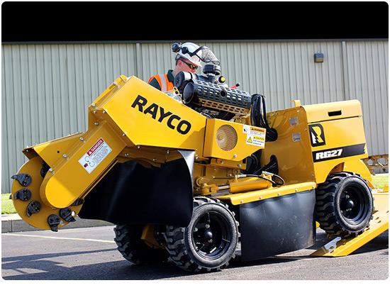 Rayco RG27Petrol Stump Grinder