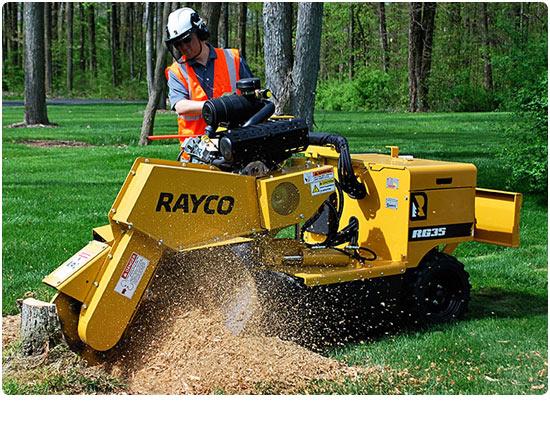Rayco RG37 Petrol Stump Grinder