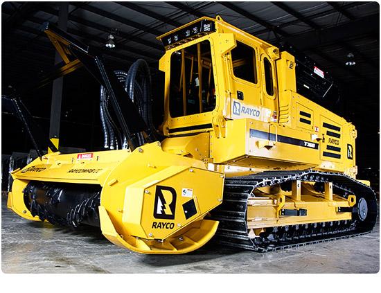 Rayco T360 Diesel Forestry Mowers