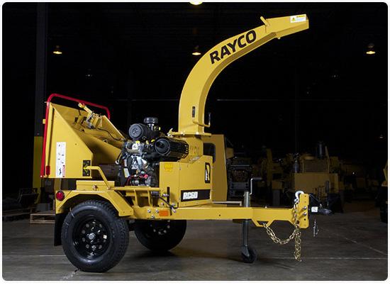 Rayco RC6D Petrol Wood Chipper