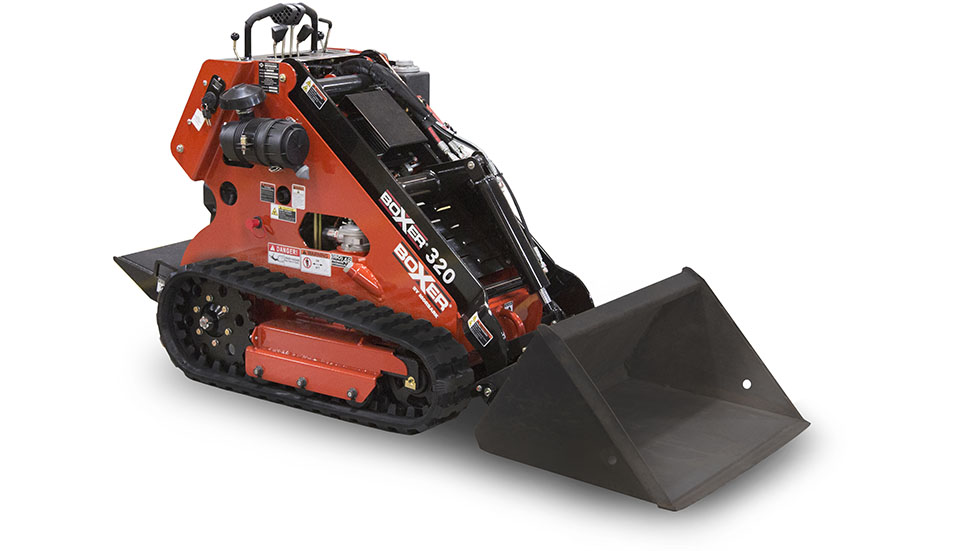 Boxer 320 Petrol Skid-Steer Loader