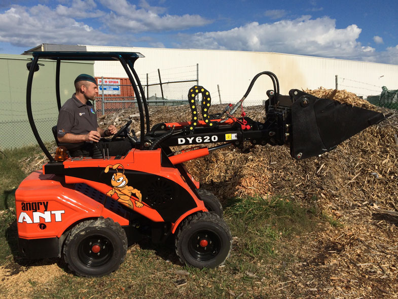 Angry Ant DY620 Mini Loader • Global Machinery Sales