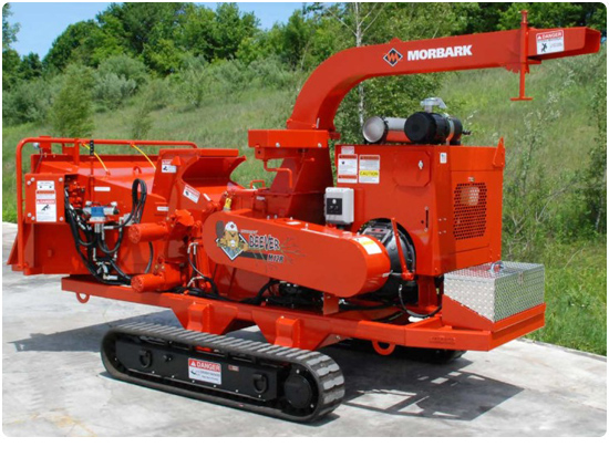 Morbark M12R Track Wood Chipper