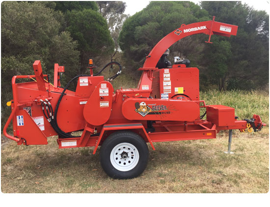 Morbark M12RX Wood Chipper