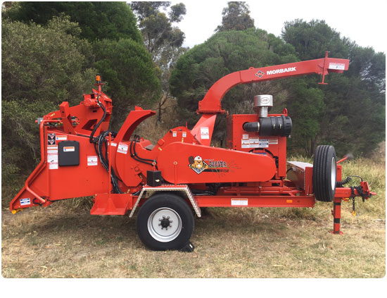 Morbark M15R Petrol Wood Chipper