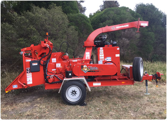 Morbark M15RX Diesel Wood Chipper