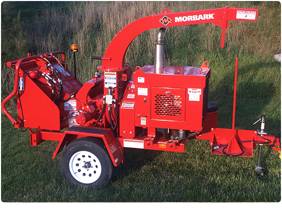 Morbark M8D Wood Chipper For Hire