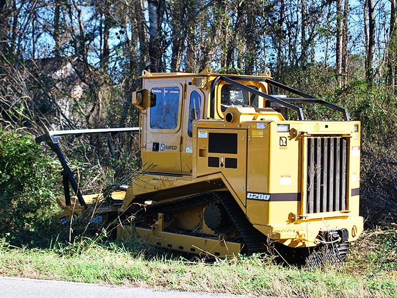 Rayco C200 Forestry Mower