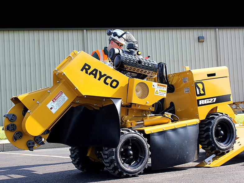 Rayco RG27 Stump Grinder