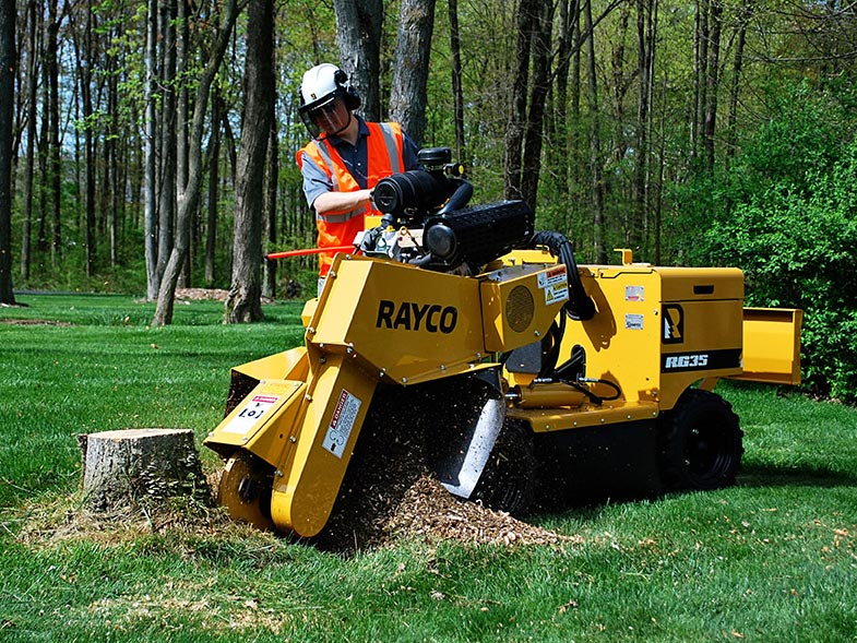 Rayco RG35 Stump Grinder