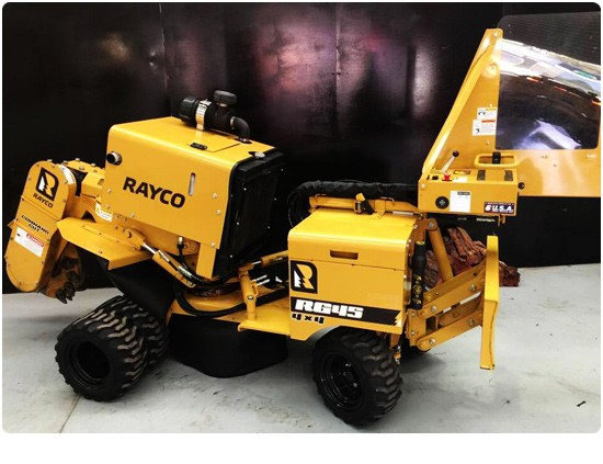 Rayco Stump Grinder For Hire