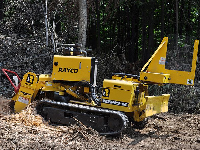 Rayco RG45 Trac Stump Grinder • Global Machinery Sales