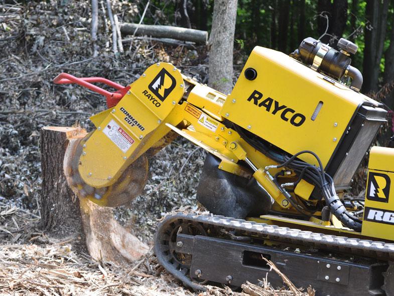 Rayco RG45 Trac Stump Grinder