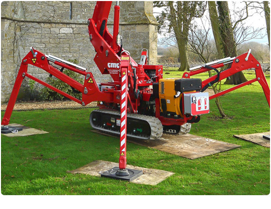 CMC S19HD Spider Lift Stablisers