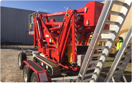 CMC S19HD Spider Lift Towable