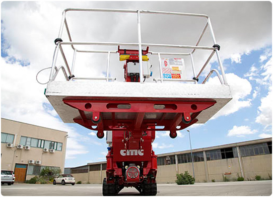 CMC S25 Spider Lift 230kgs basket capacity