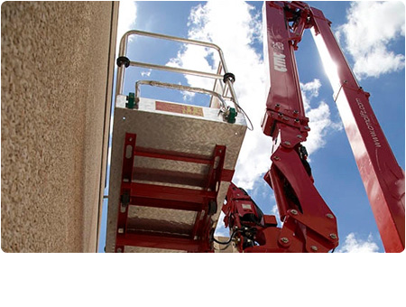 CMC S25 Spider Lift Flexible Boom Configuration