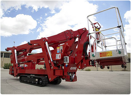 Global Machinery Sales CMC S25 Spider Lift