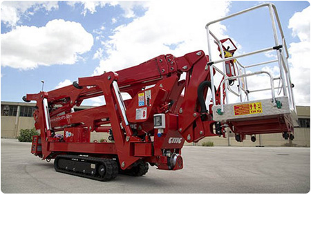 CMC S25 Spider Lift Narrow and Compact