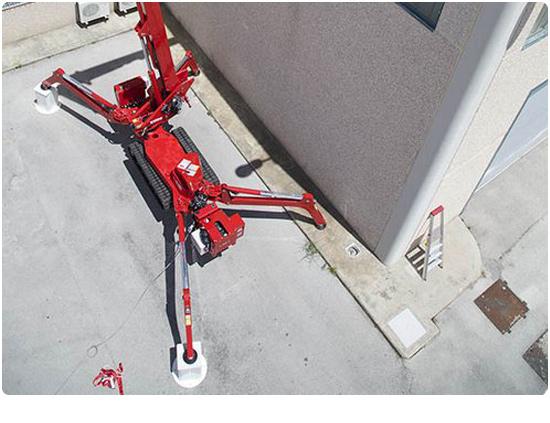 CMC S25 Spider Lift Variable Stabliser Width