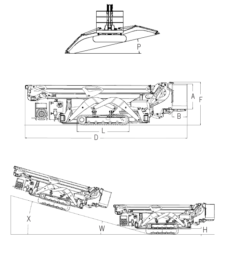 CMC S32 Spider Lift
