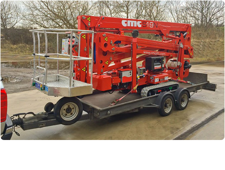 CMC Spider Lifts Towable