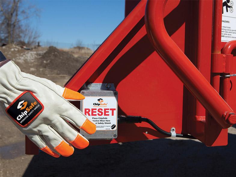 Chipsafe Operator Safety Shield
