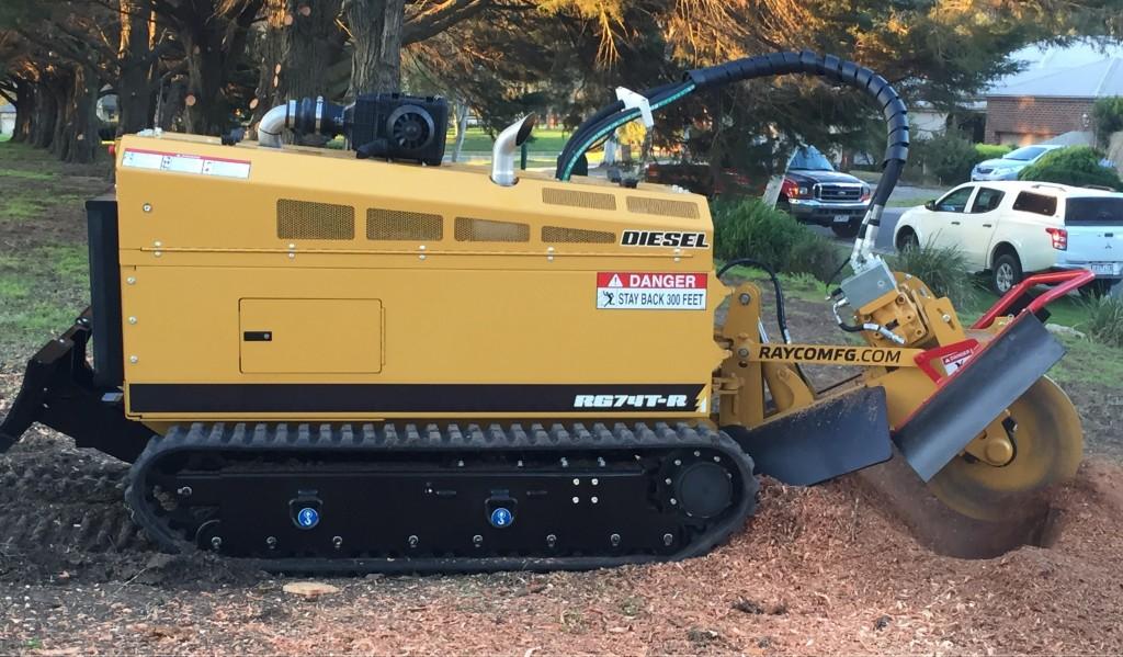 Rayco RG74T-R Stump Grinder