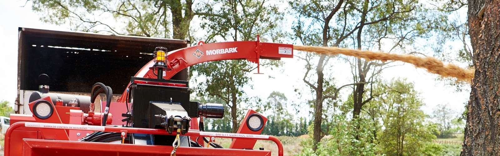Morbark M18R Wood Chipper
