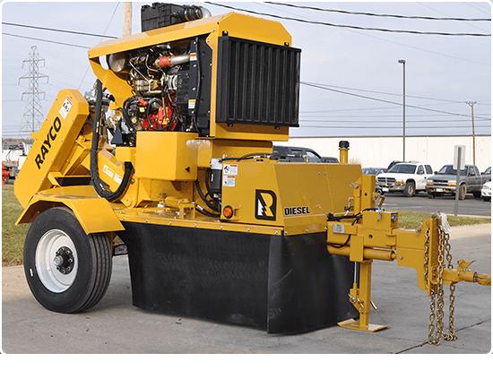 Rayco RG74DXH Diesel Stump Grinder