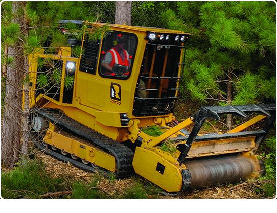 Rayco C120 Diesel Forestry Mowers
