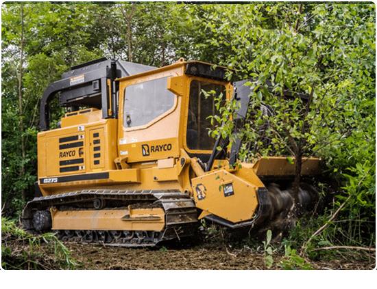 Rayco C275 Diesel Forestry Mowers