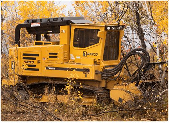 Rayco T415 Diesel Forestry Mowers