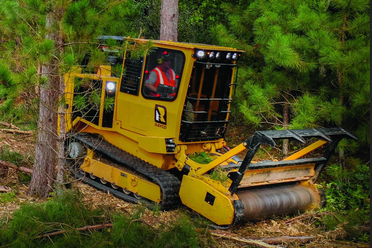 Rayco C120 Forestry Mower