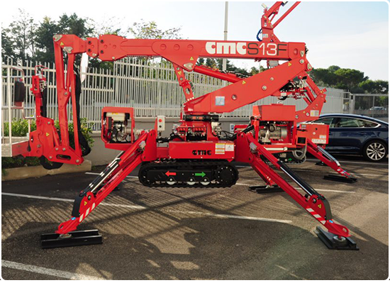 Global Machinery Sales CMC S13F Spider Lift