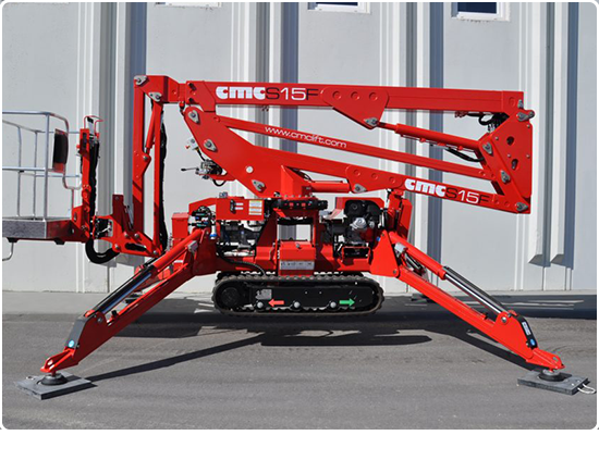 Global Machinery Sales CMC S15F Spider Lift