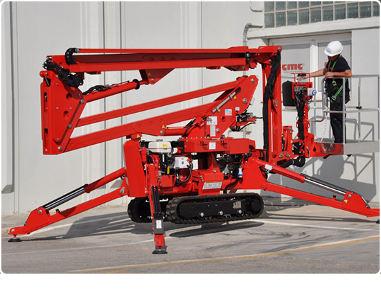 Global Machinery Sales CMC S18F Spider Lift